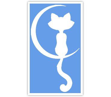 Трафарет для тату и мехенди хной Кошка № 22