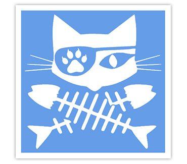Трафарет для тату и мехенди хной Кошка № 39
