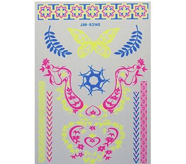 Трафарет для тату Флеш тату № 61