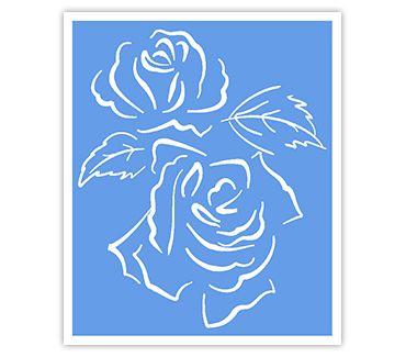 Трафарет для тату и мехенди хной Цветок № 11