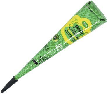 Зелёная хна для тату в конусе Golecha