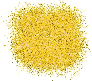 Неоновый золотой блеск для тату