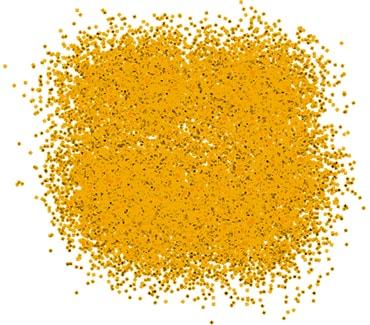 Неоновый оранжевый блеск для тату