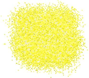 Неоновый жёлтый блеск для тату