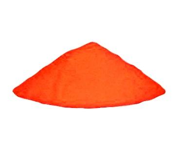Оранжевый светящийся порошок