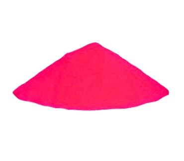 Розовый светящийся порошок