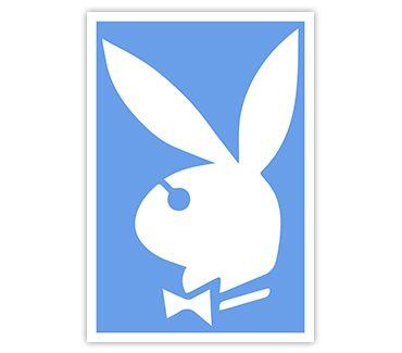трафарет для тату и мехенди Playboy № 1