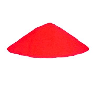 Красный светящийся порошок