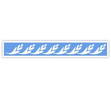 трафарет для тату и мехенди Трафарет на крестец № 27