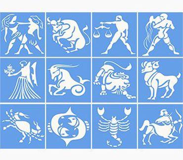 трафарет для тату и мехенди Трафареты знаков зодиака