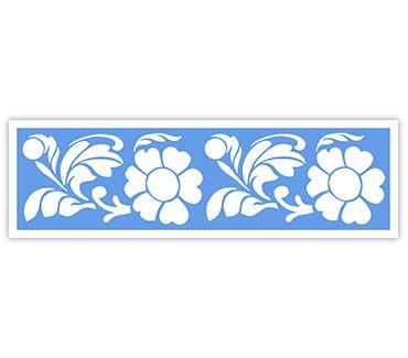 Трафарет для тату и мехенди хной Цветок № 43